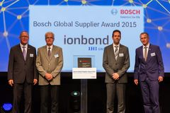 Ionbond receives Bosch Global Supplier Award 2015